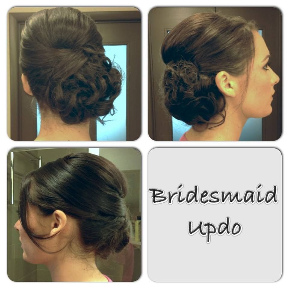 bump & low side bun | my work | pinterest | hair style, prom hair
