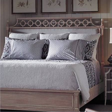 ... Create A Contemporary Romance In Your Bedroom With The Stanley Furniture  Preserve Botany Upholstered Panel Bed . Its Waterway Weave Fabric  Upholstered.