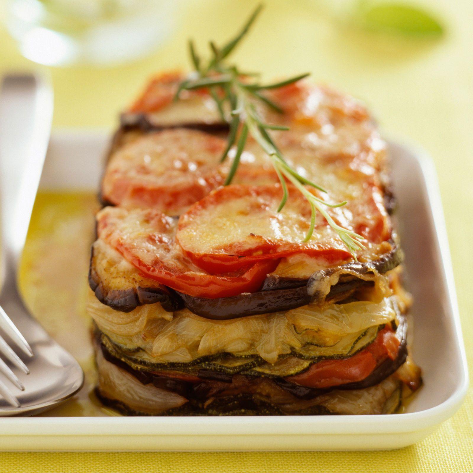 Recette Facile Du Tian Provencal tian de légumes gratiné