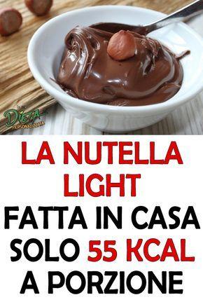 Ricetta Nutella Light Fatta In Casa.La Ricetta Della Nutella Fatta In Casa Che Ha Soli 55 Calorie A Porzione Ricetta Ricette Ricette Di Cucina Dolci Dietetici