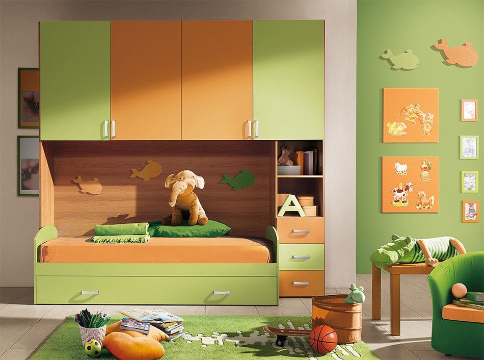 Camerette Convenienti ~ Cameretta ph by valentini colorate e convenienti struttura a