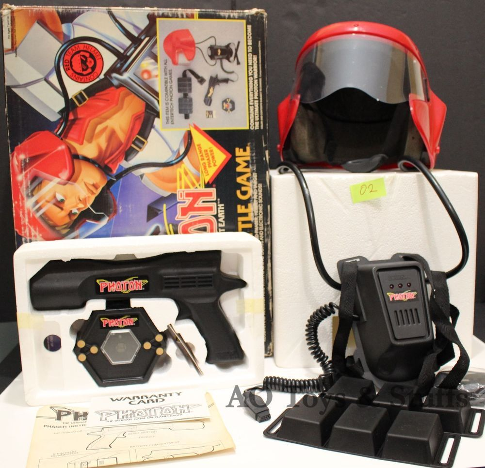 Classic Photon Warrior Laser Tag From The 1980s Laser Tag Old Toys My Childhood