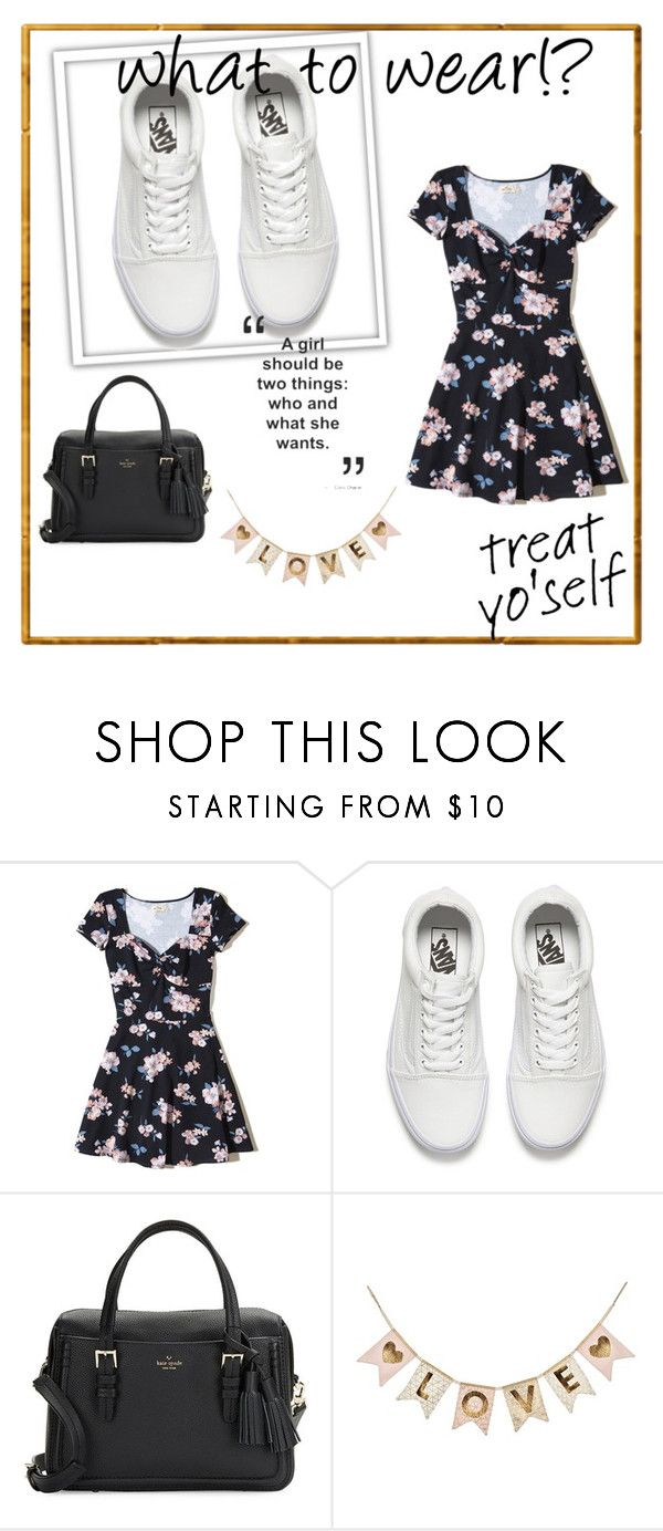 """""""sheinside"""" by harimatahari ❤ liked on Polyvore featuring Hollister Co., Vans and Kate Spade"""
