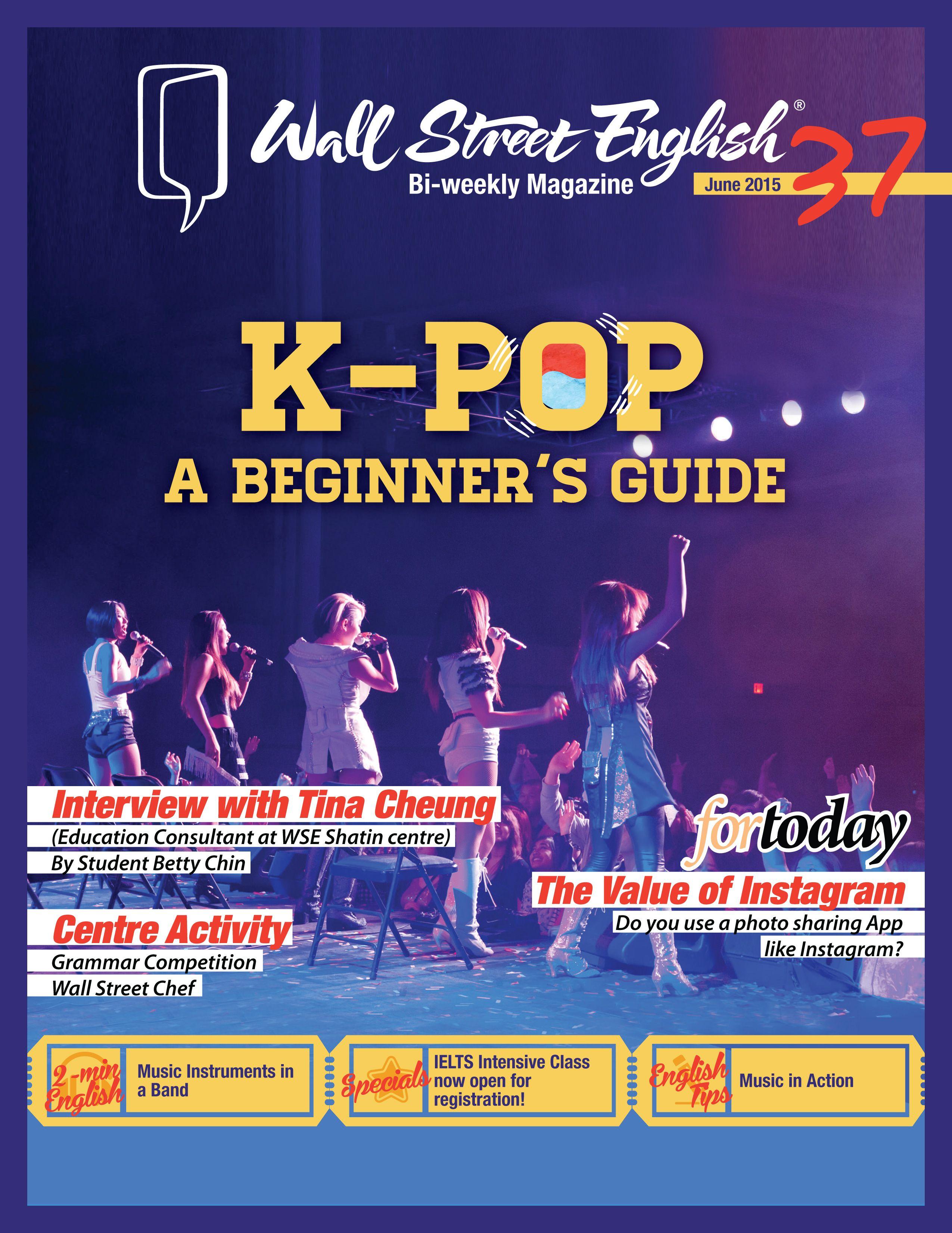 wall street english bi weekly magazine no 37 k pop a on wall street english id=85914
