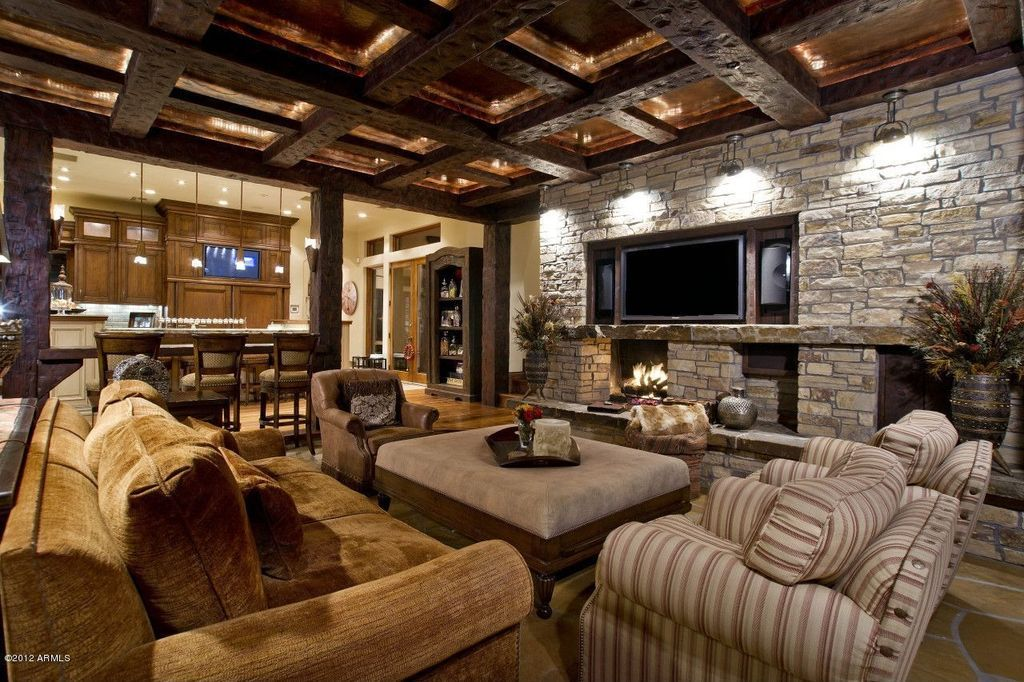 Rustic Tray Ceiling Ideas Google Search Eclectic Living Room Home Room