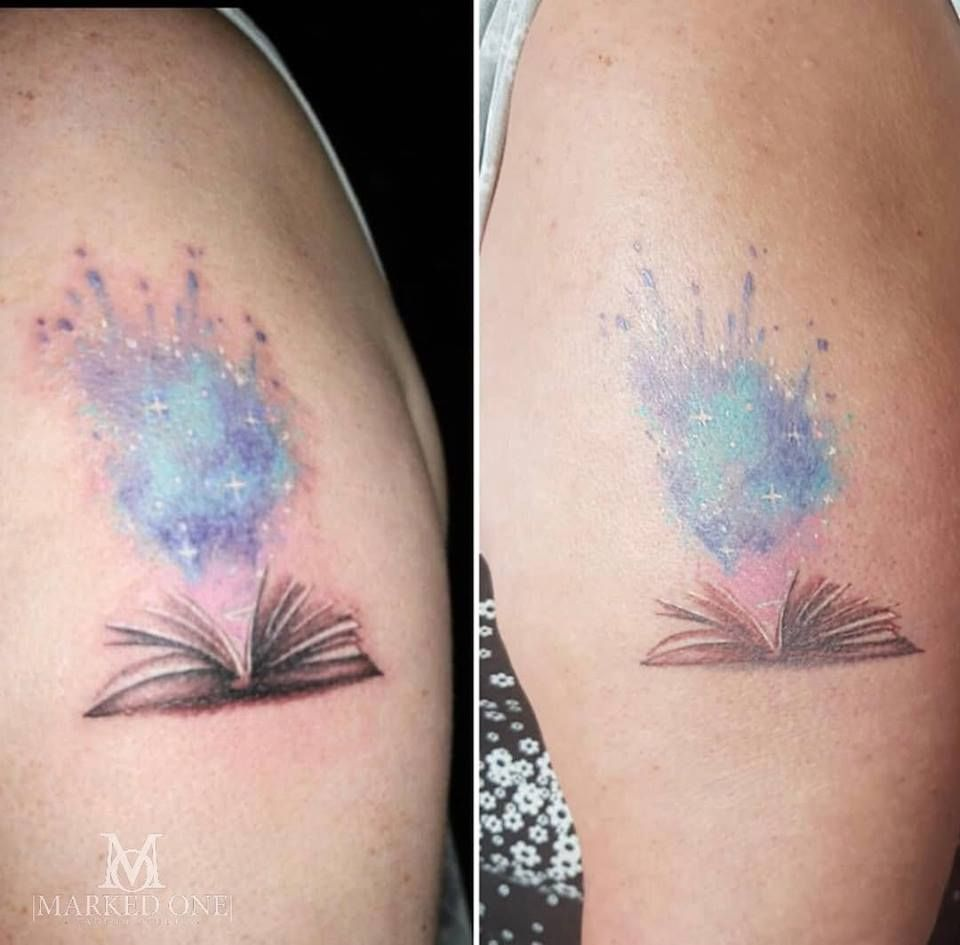 Healed Watercolor Tattoo One Of My Local Tattoo Artists Done By