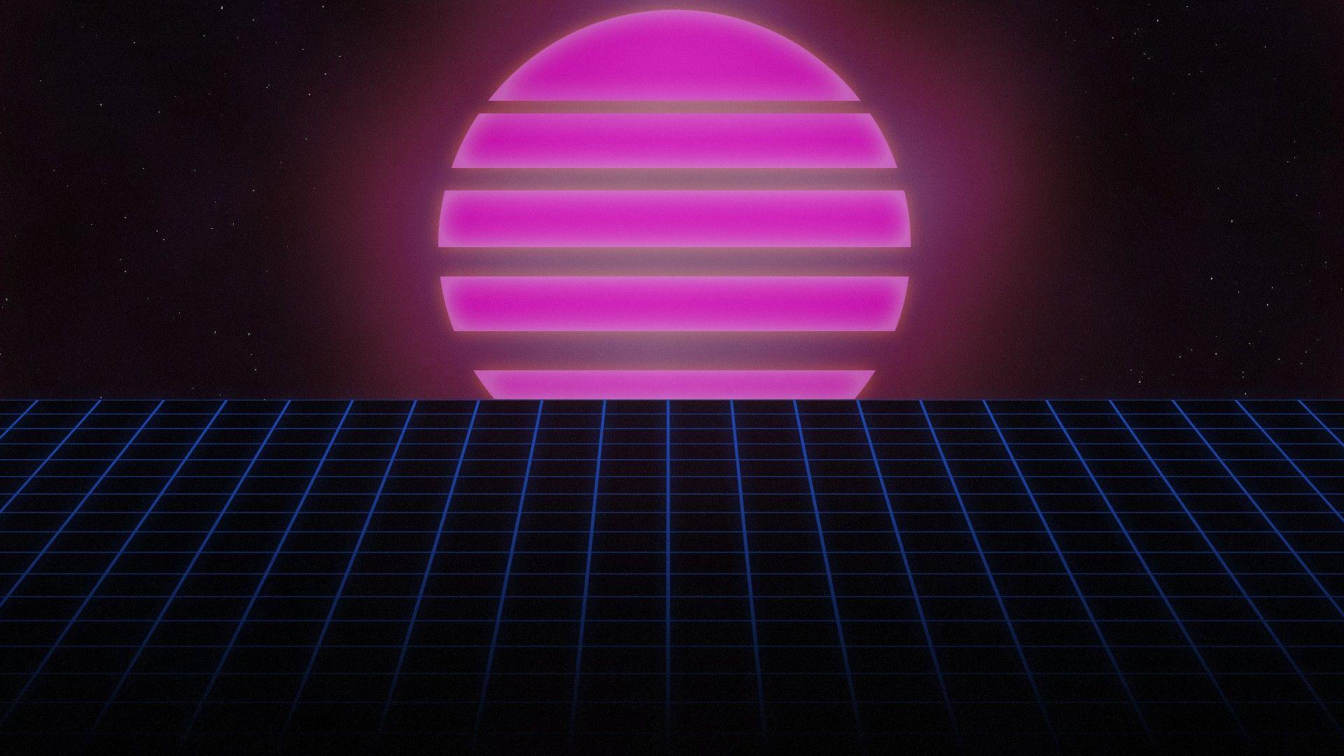 80s Sunset By Allieg3x On Deviantart Retro 80s Wallpapers Neon Wallpaper Minimalist Wallpaper 80s Neon