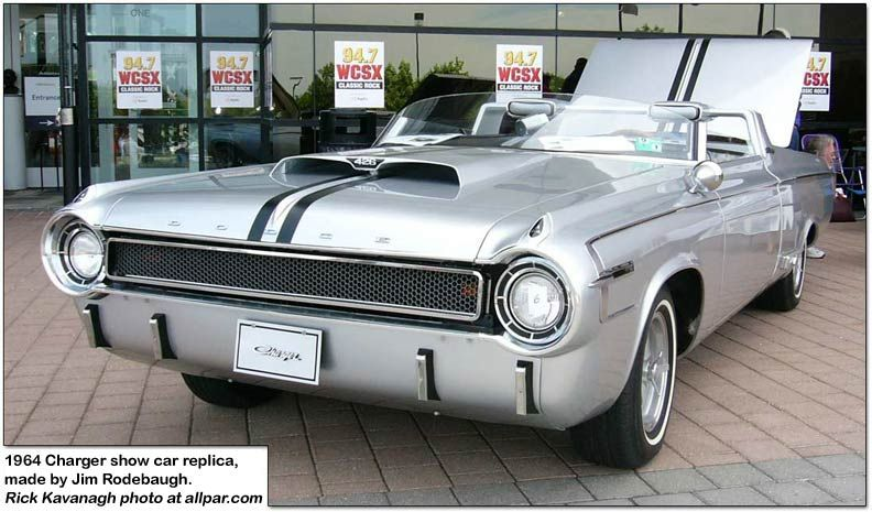 1964 charger show car replica made by jim rodebaugh i 39 d like one please cars pinterest. Black Bedroom Furniture Sets. Home Design Ideas