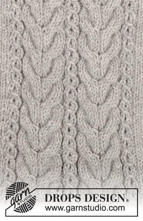 Patrón gratuito de punto | Tejidos a Palillos y Crochet | Pinterest ...