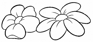 riscos diversos de flores e gramas e outros riscos pintura