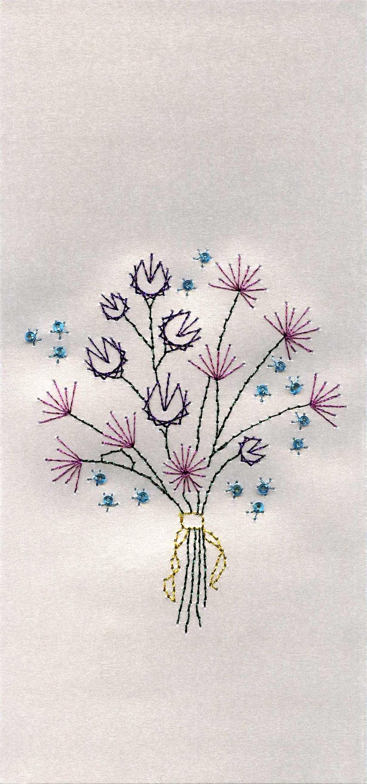 Haft Matematyczny Fadengrafik Fadengrafik Blumen Grafik