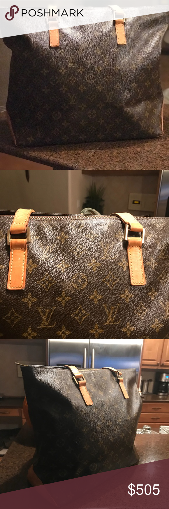 721fdfc8 Beautiful Vintage Louis Vuitton Large Mezzo Tote Vintage Item ...
