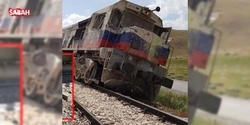 PKKdan trene bombalı tuzak!: Vana bağlı Saray ilçesinde yük trenine PKKlı teröristlerce düzenlenen bombalı saldırıda 1 makinist hafif şekilde yaralandı.