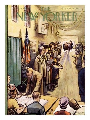 The New Yorker Cover - November 4, 1950