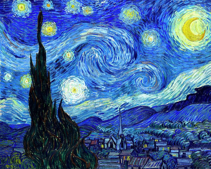 Starry Night Vincent Van Gogh Starry Night Van Gogh Gogh The Starry Night Vincent Van Gogh