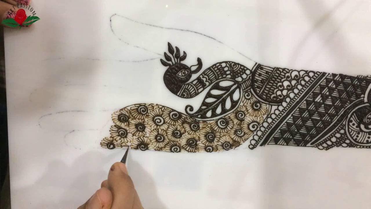 Bridal Mehndi Ideas : Tutorial rajvadi style intricate traditional bridal mehendi