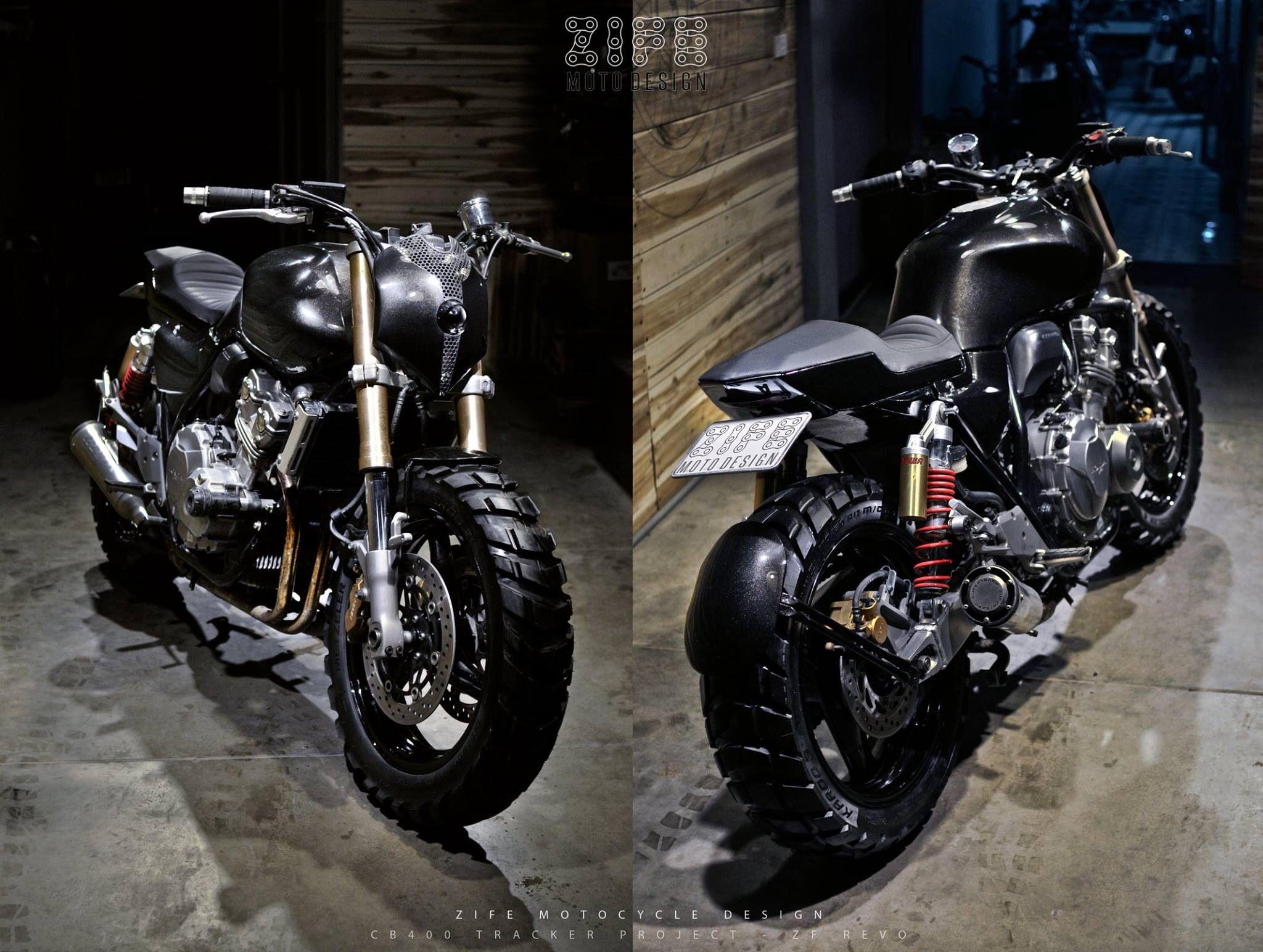 ZIFE Project Honda CB400 Tracker ZF-REVO VIET NAM | ZIFE ...