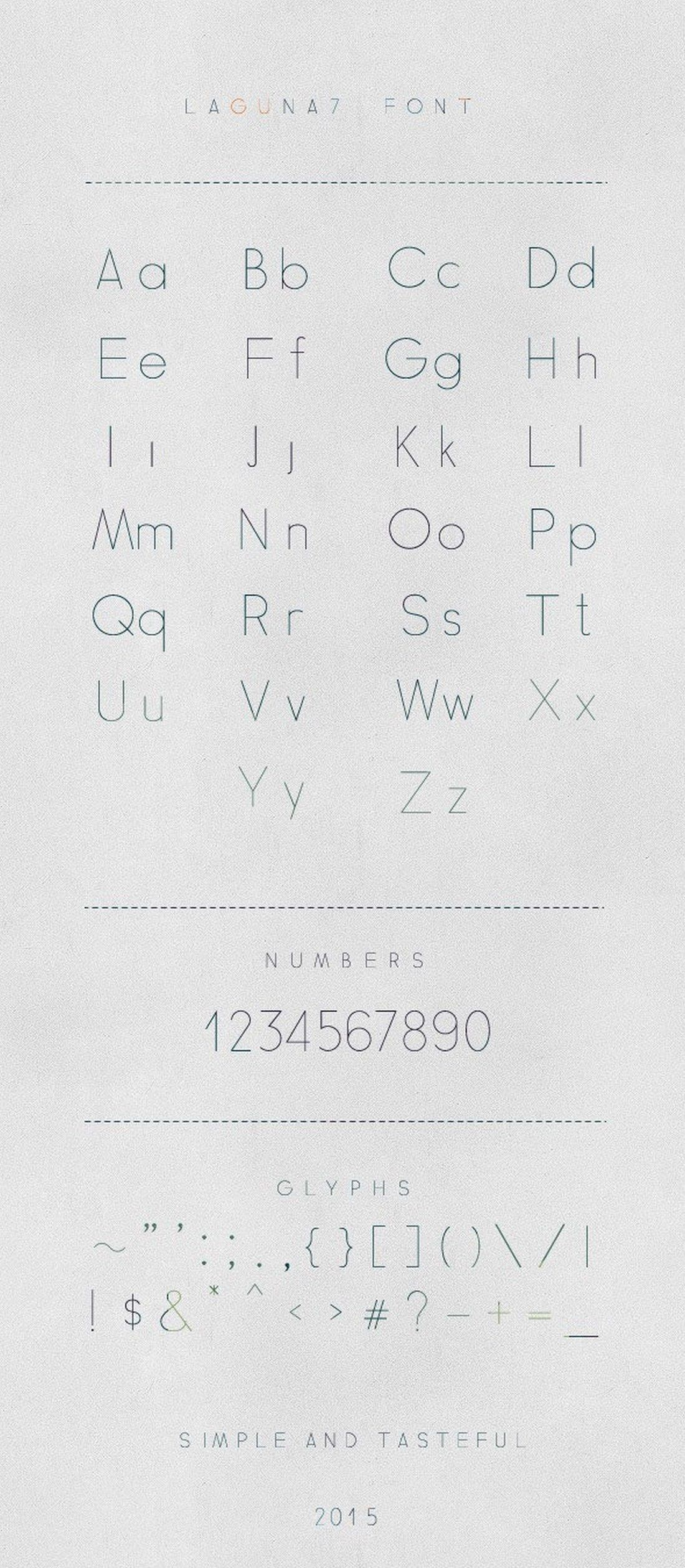 30+ Best Number Fonts for Displaying Numbers Number