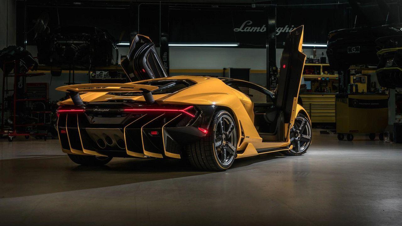 Photos Une Eblouissante Lamborghini Centenario Jaune Aux Usa