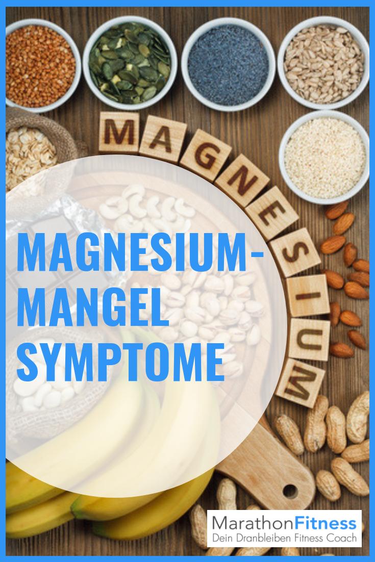 Was sind typische Magnesiummangel Symptome?