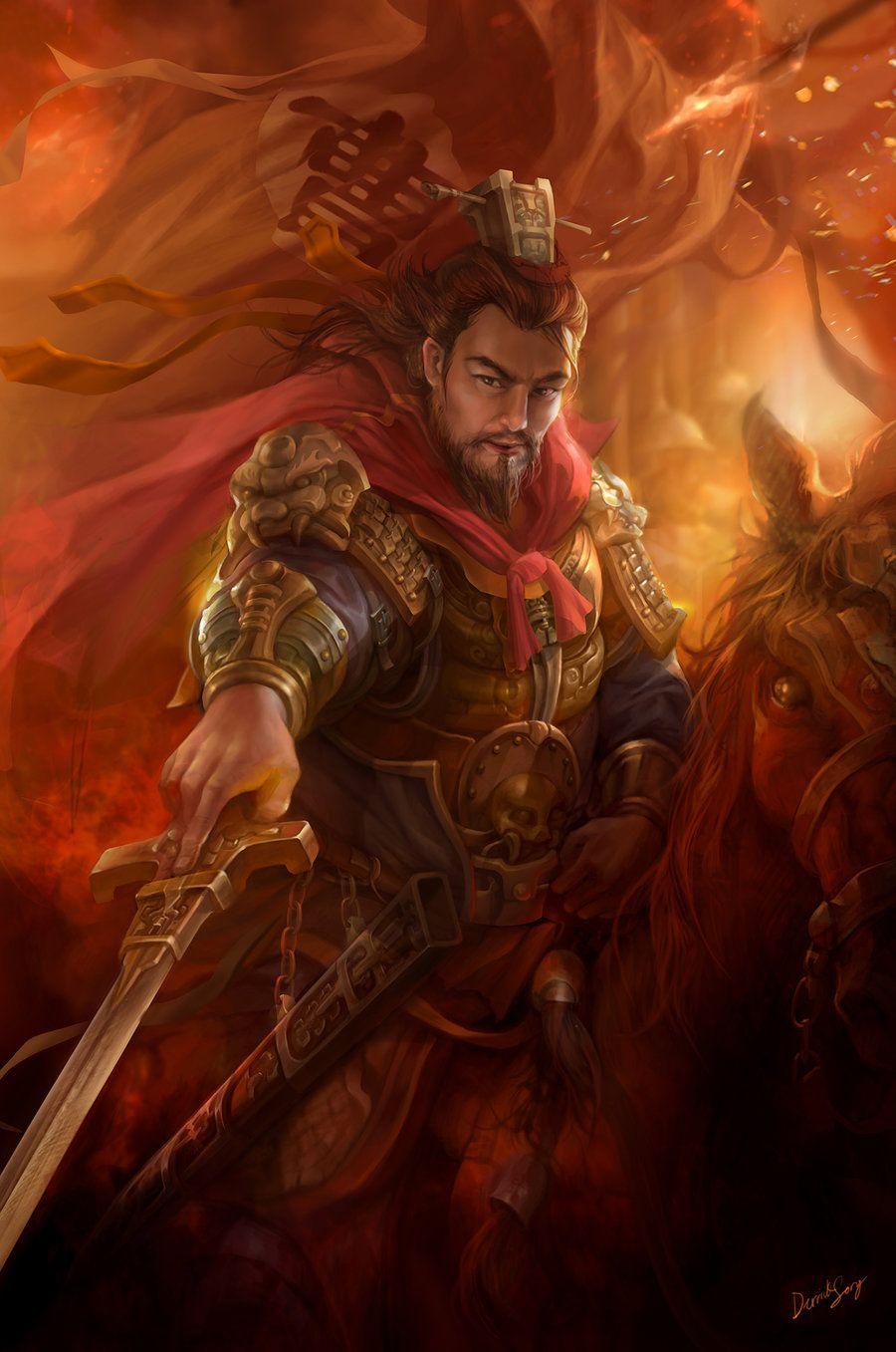 Dynasty Warrior Fanart - Caocao by derrickSong on deviantART