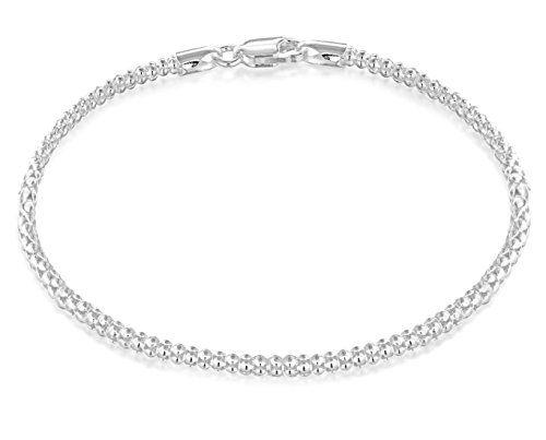 Tuscany Silver Sterling Silver Cross Bracelet of 19cm/7.5 5eGHBevSI