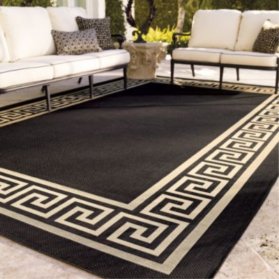 Greek Key Outdoor Rug Frontgate How To Clean Carpet Outdoor Carpet Carpet Cleaning Hacks