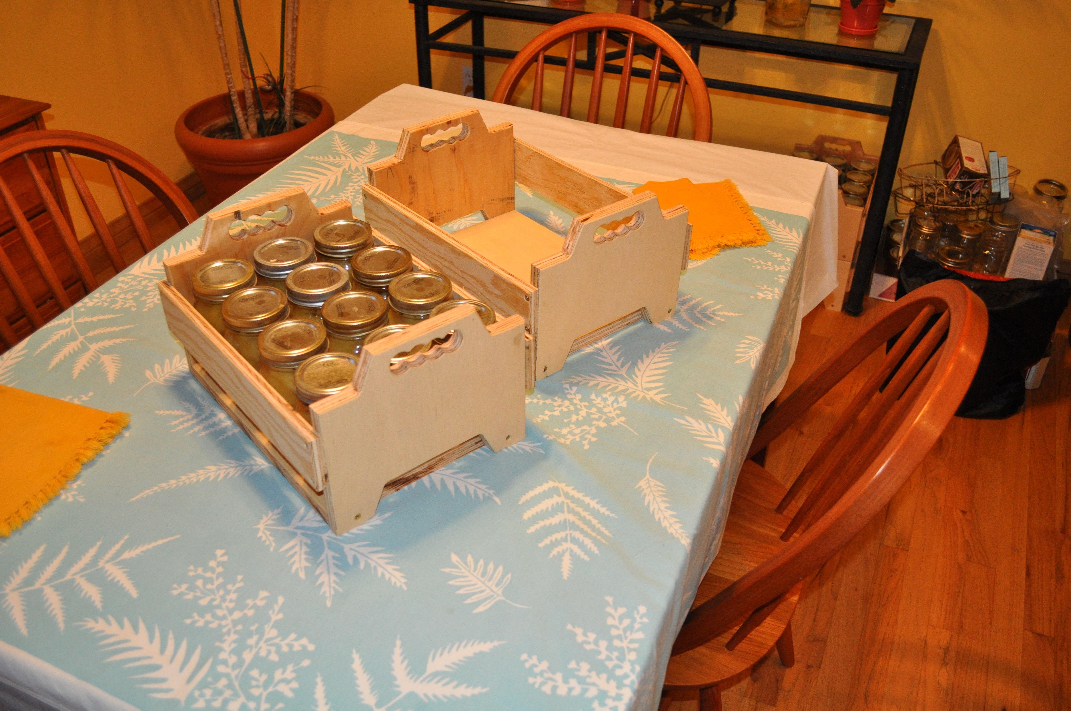 Canning Jar Boxes Canning Jars Canning Jar Storage Canning