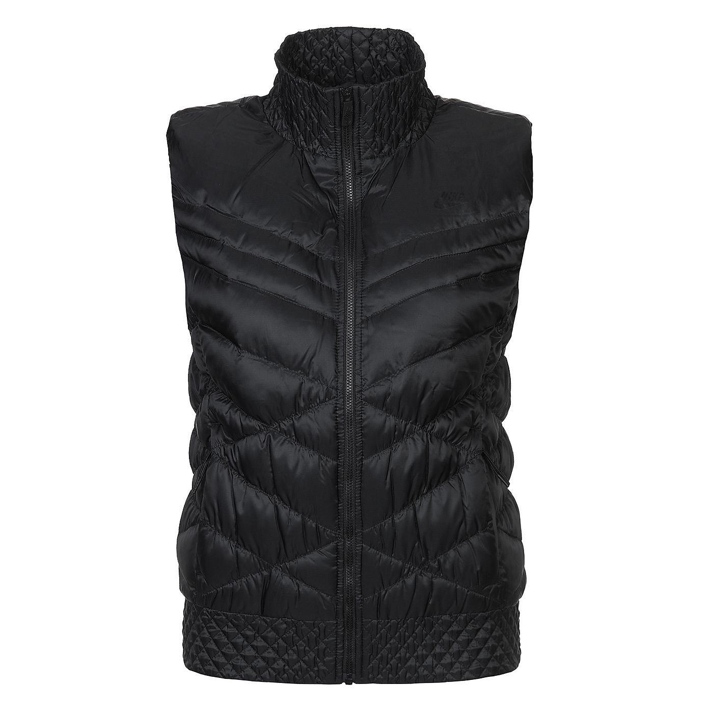 40d918bb2896 Nike Sportswear Cascade 700 Weste Damen   Nike, Black and Ps