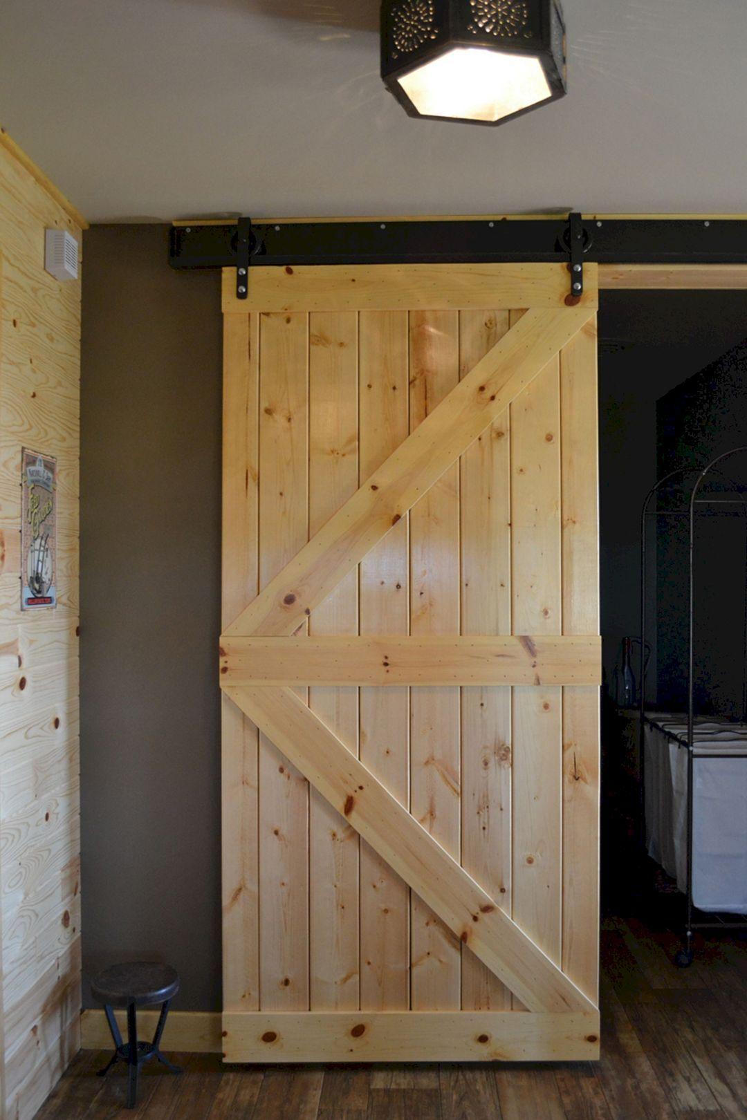 pine closet doors on 17 creative and rustic diy barn door ideas you should have it diy barn door diy barn door hardware knotty pine doors diy barn door hardware knotty pine doors