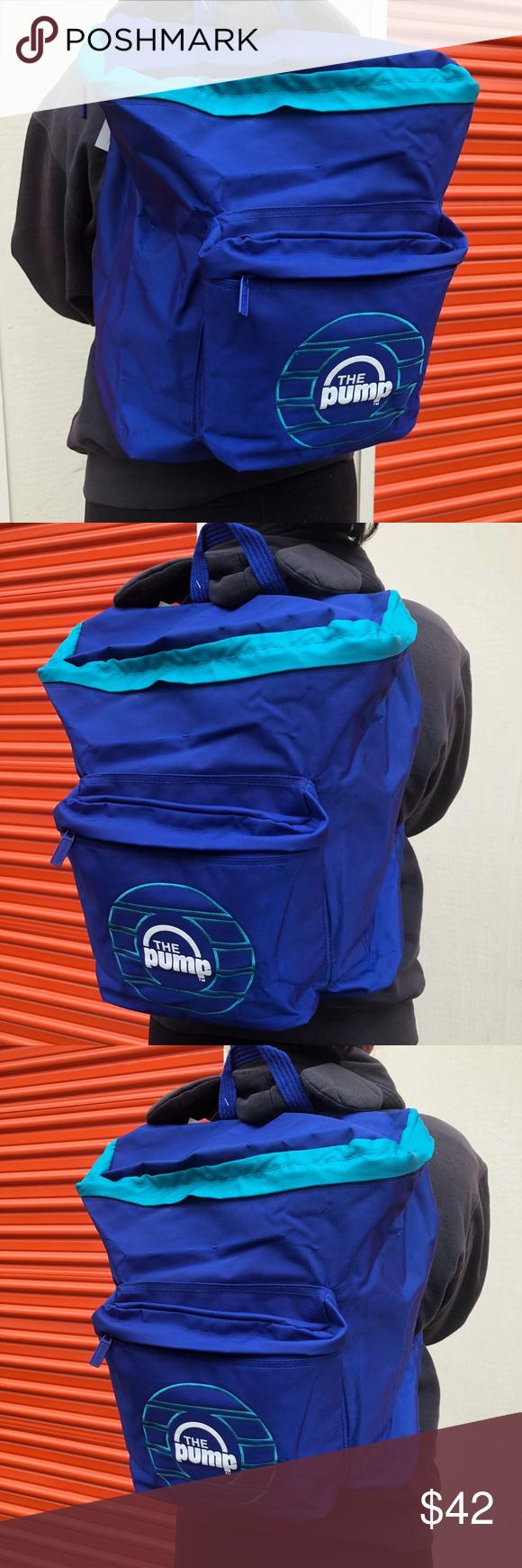 Semicírculo prueba Contribuir  REEBOK THE PUMP BLUE BACKPACK 🎒 FULL SIZE BAG Full size Reebok backpack  Reebok Bags | Blue backpack, Blue pumps, Pumps