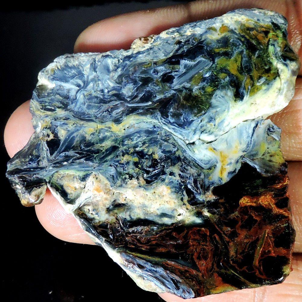 Cabochon Loose Gemstone Material Pietersite Rough Slab Gemstones Best Price 2018