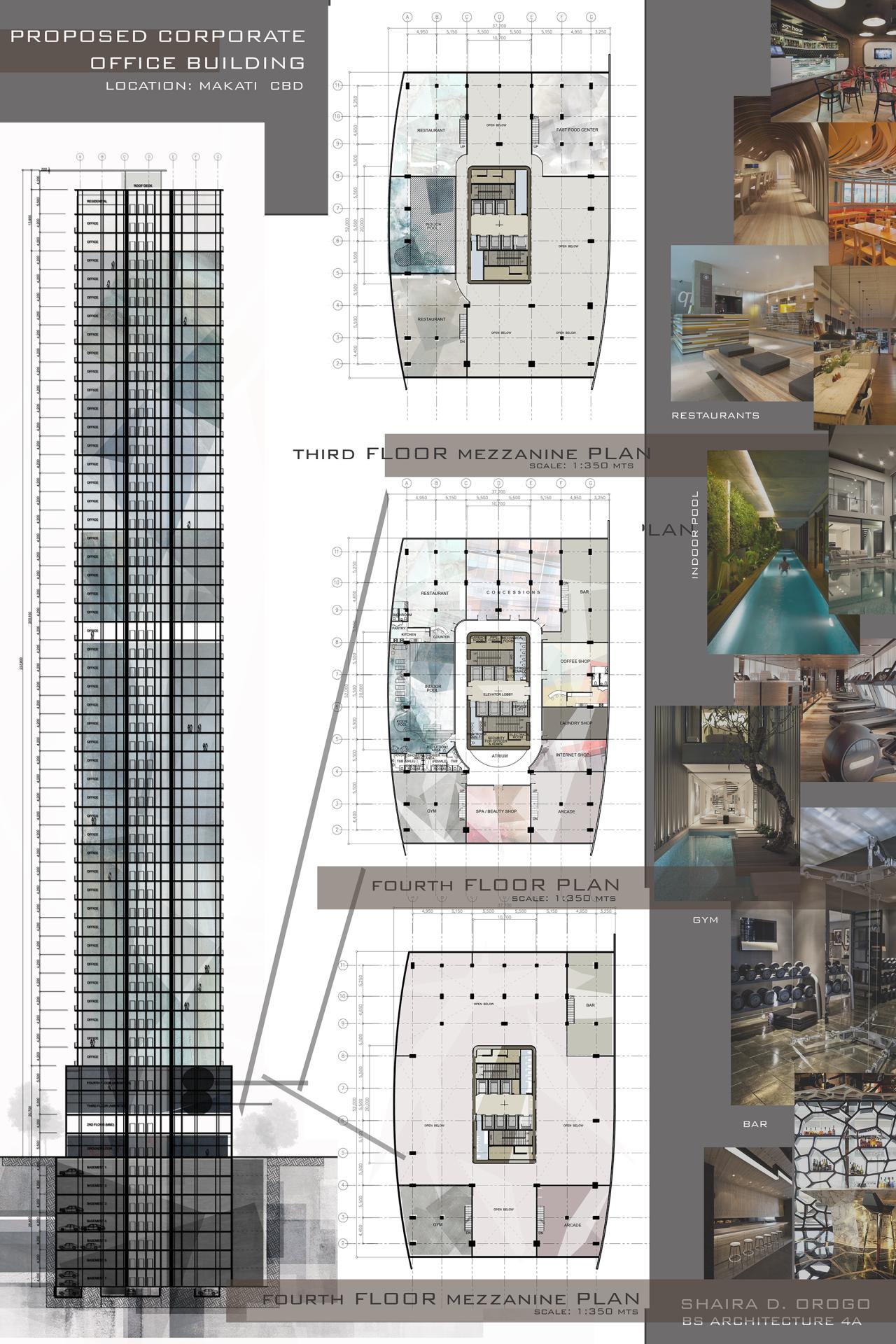 Figure Me Out Design 8 Proposed Corporate Office Building Denah Bangunan Denah Rumah Arsitektur