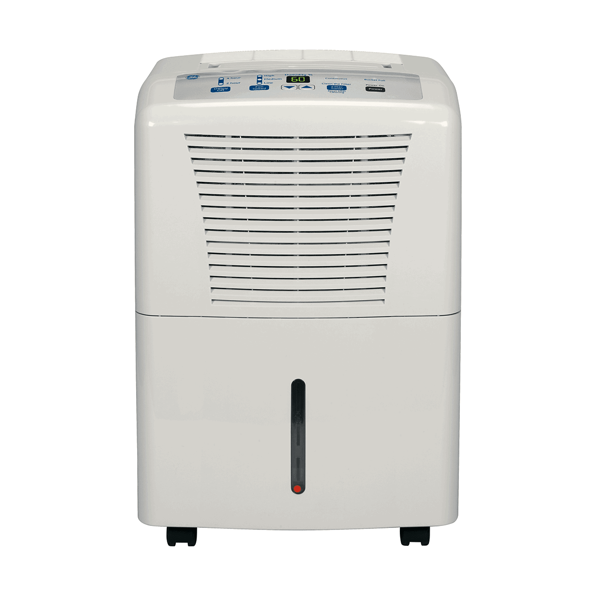 Small Dehumidifier For Bathroom From White Plastic