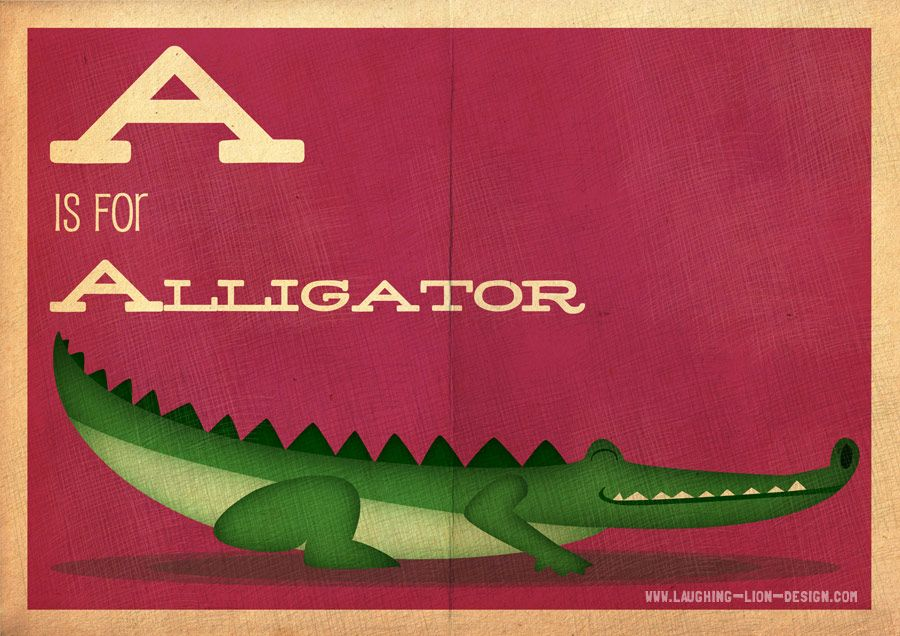 A is for Alligator - Jennifer Farley