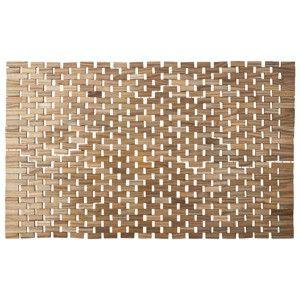 Target Mobile Site  Target Home™ Raw Finished Bath Rug  Raw Wood Endearing Target Bathroom Rugs Inspiration Design