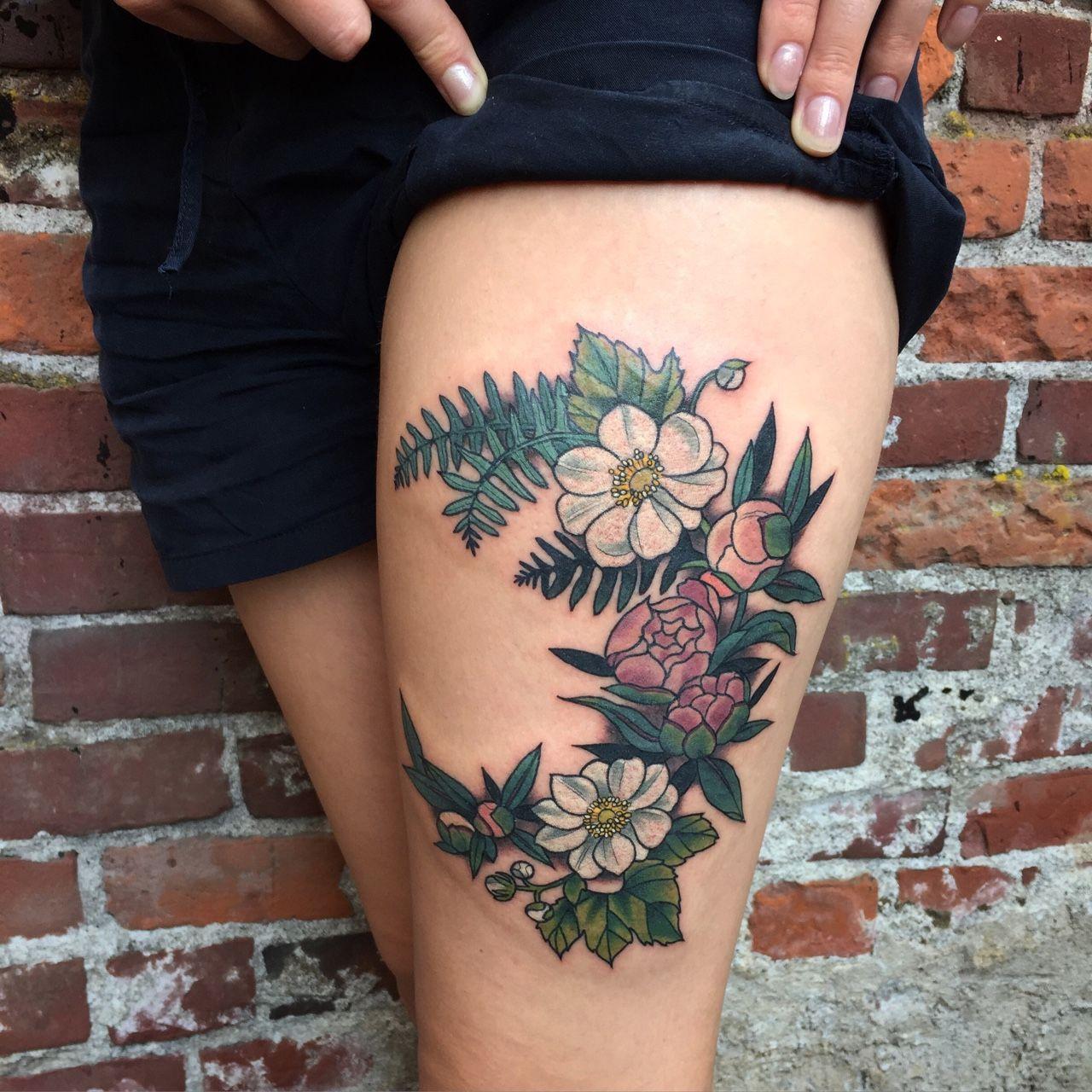 awesome Красивые татуировки для девушек на ноге (50 фото ...
