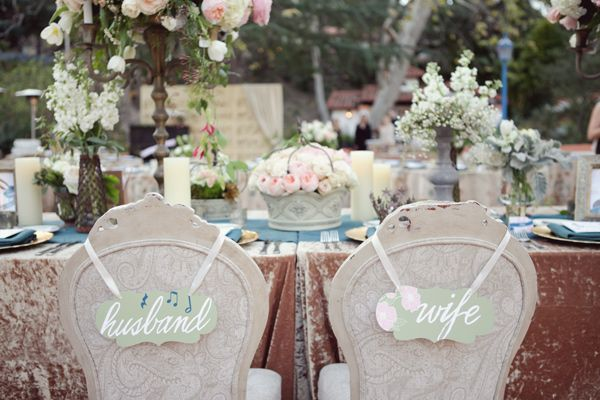 Music Inspired Fairytale Wedding