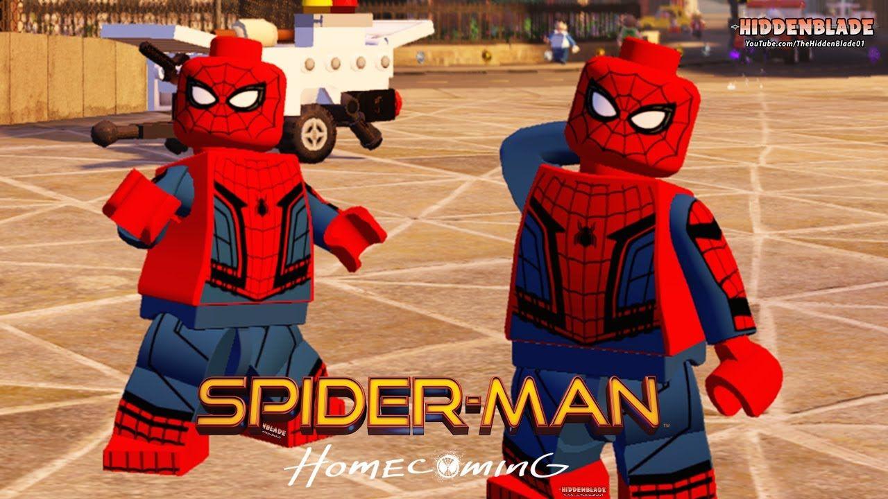 Resultado De Imagen Para Lego Spiderman Costume Spiderman Legos