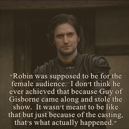About Richard Armitage on the Robin Hood Set: Frances Tempest, Costume Designer for Series 1 and 2, October 2009