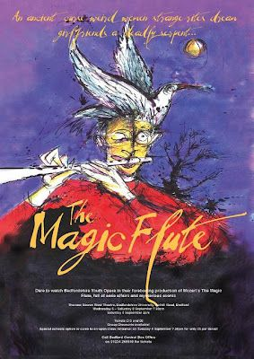 W A Mozart Die Zauberflote K 620 The Magic Flute Opera Affiche Photos