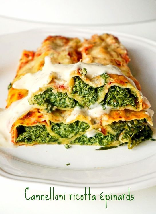 Cannelloni ricotta pinards recette cannelloni cannelloni ricotta epinard et ricotta - Cuisine italienne cannelloni ...