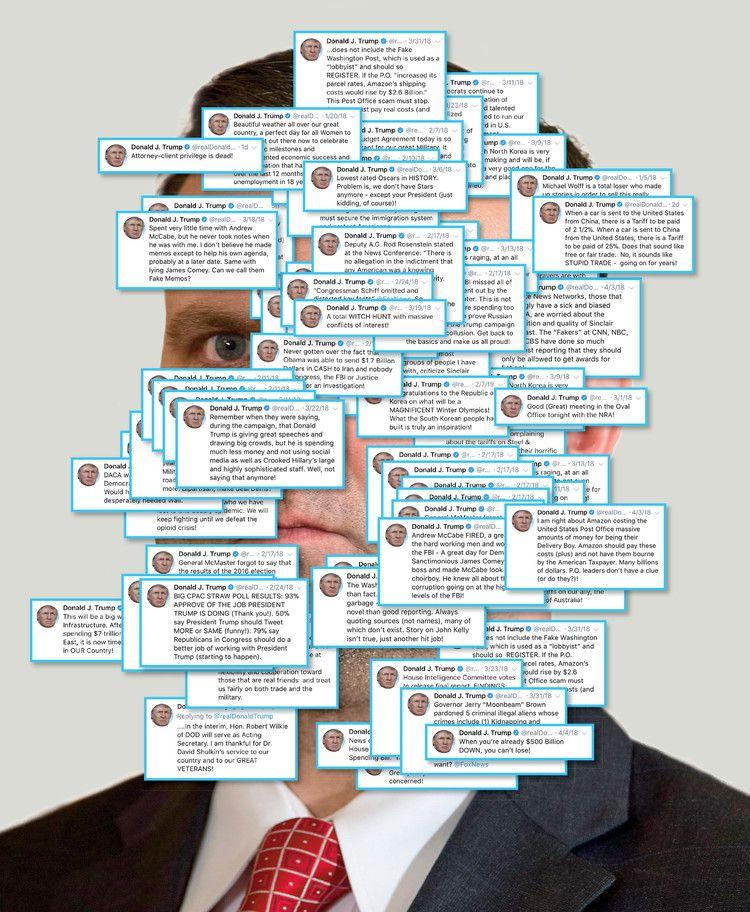 The Mystery Man Behind Trump S Tweets Trump Scandal The Man Man