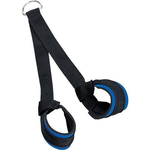 CAP Barbell Unisex-adult Workouts Nylon Crunch Strap Black