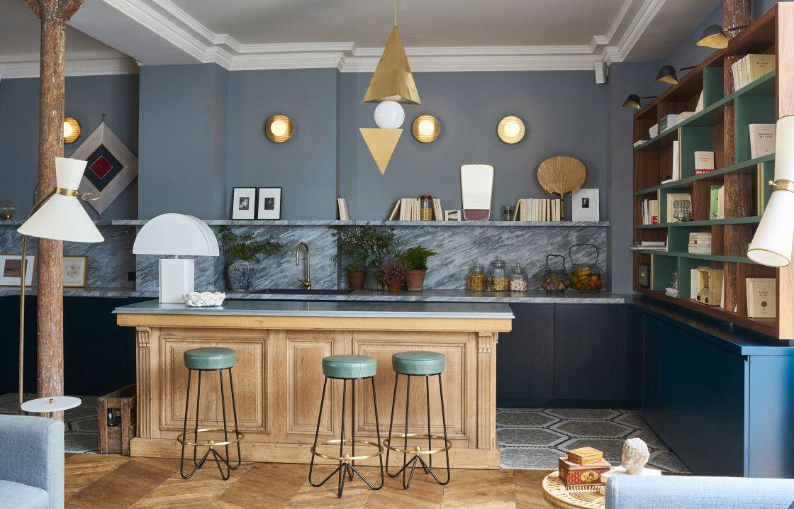 Paris parenth se bucolique chez doroth e delaye - Architecte interieur paris petite surface ...