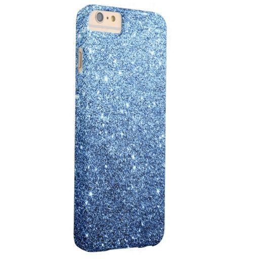 iphone 6 case blue glitter