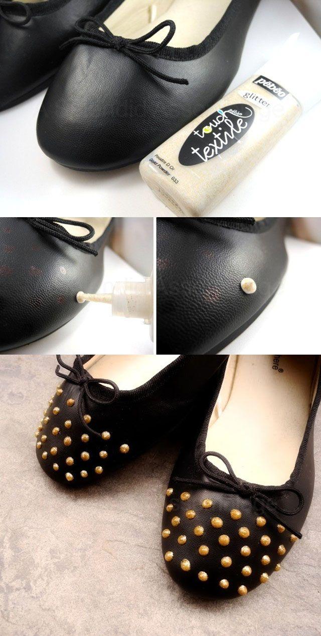 49d5707d8f4b DIY Fashion  15 DIY Shoes Design Ideas