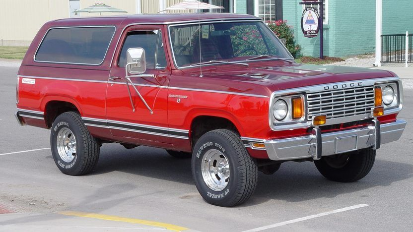 1978 Dodge Ram Charger 4x4, 440 4bbl V8/727 Auto/3.55 Axles ...