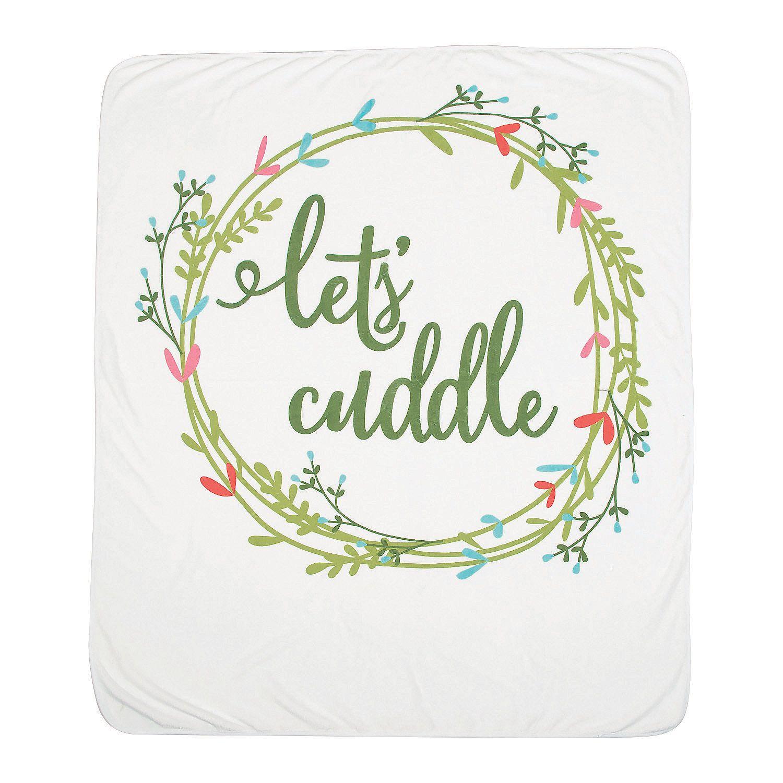 Wedding Attendants Gifts: Let's Cuddle Wedding Throw
