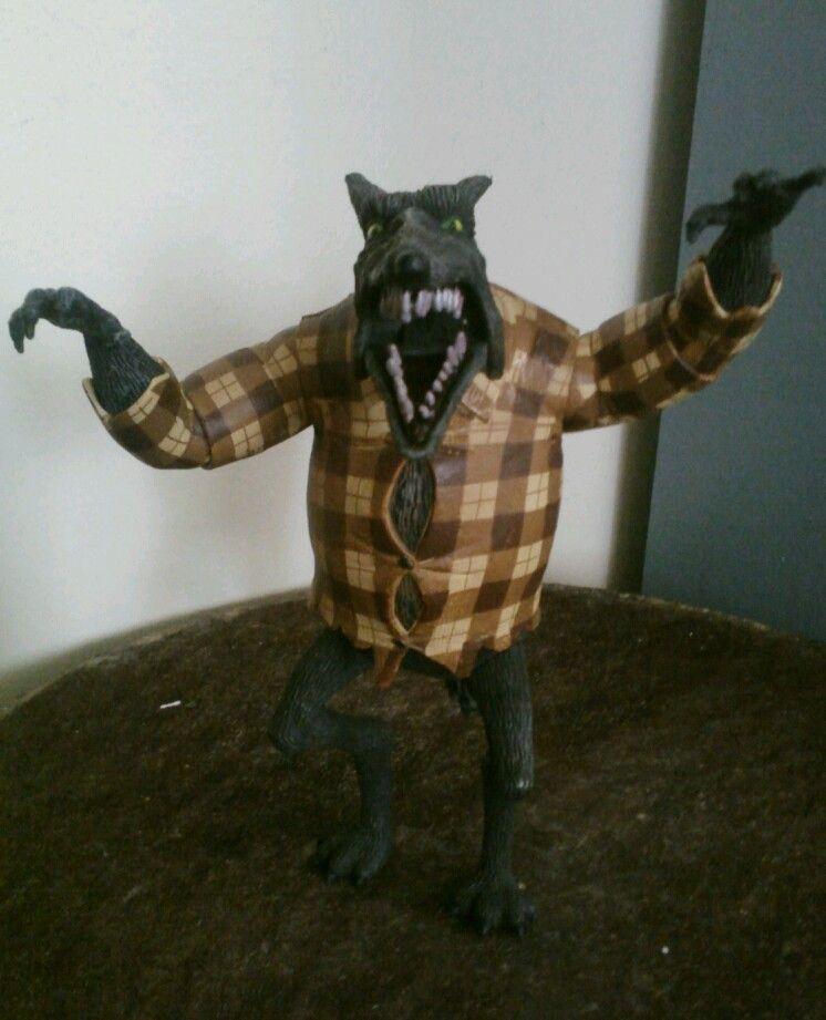 Nightmare before christmas Werewolf figure loose neca - Toy Case ...